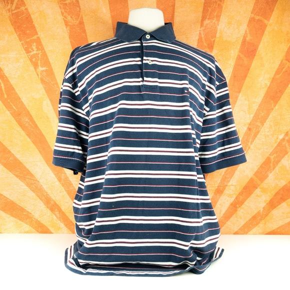 11601880 Tommy Hilfiger Shirts | Polo Shirt Vintage Stripe Block Xxl | Poshmark